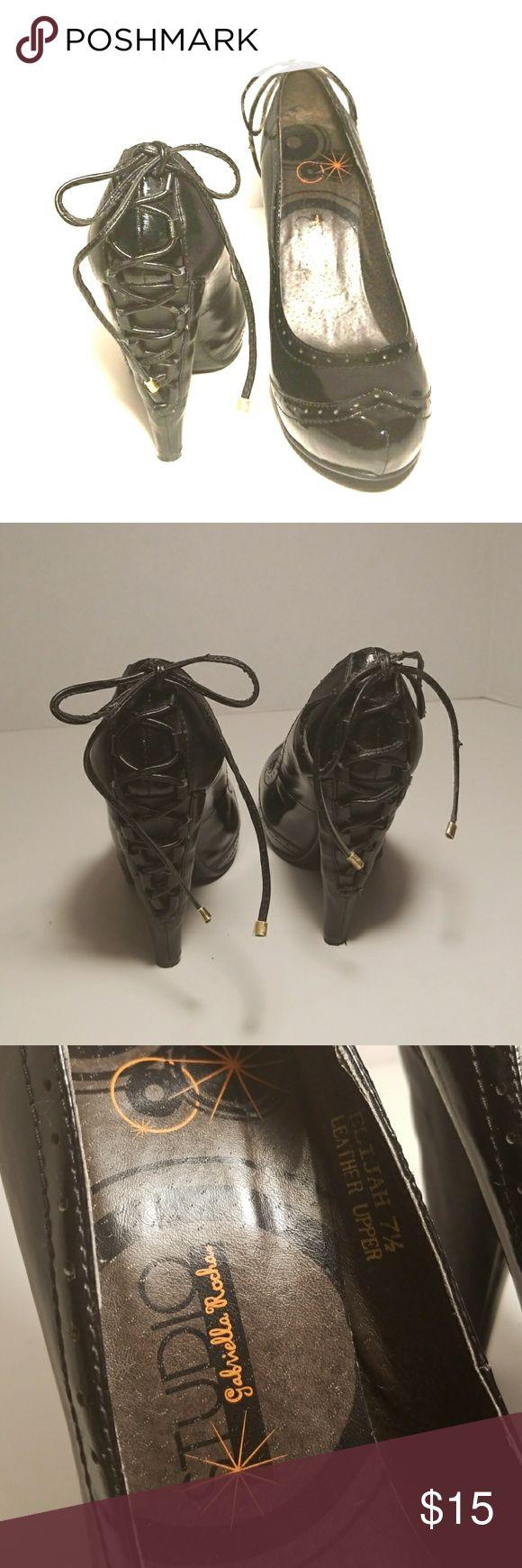 Studio Gabriella Rocha Pumps Sexy Studio Gabriella Rocha pumps. Hot lace up detail. Studio Shoes Heels