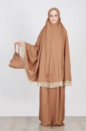 Tatuis  Aruna Sacchi Brown  IDR 310.300  Jual Baju dan Busana Muslim Modern | Hijabenka