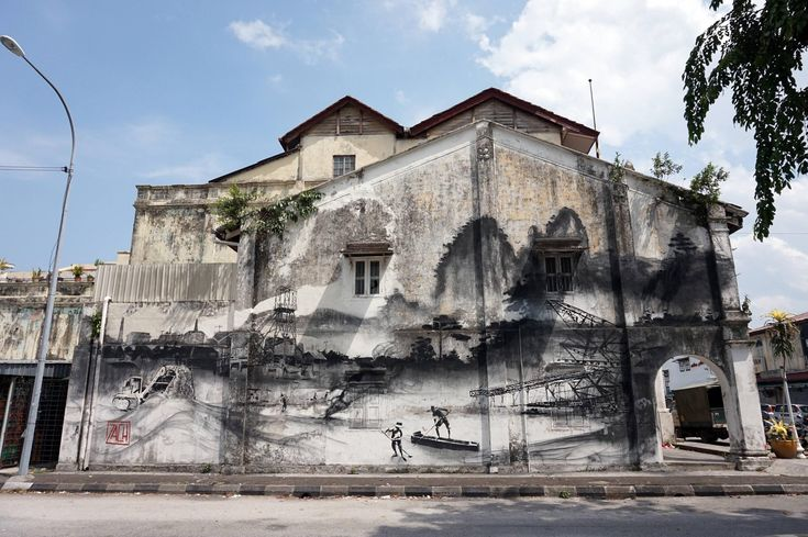 PHOTOS/VIDEO] Ernest Zacharevic On A Mission To Paint Seven Murals ...