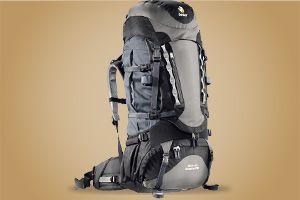 Matériel pour un voyage sac à dos
