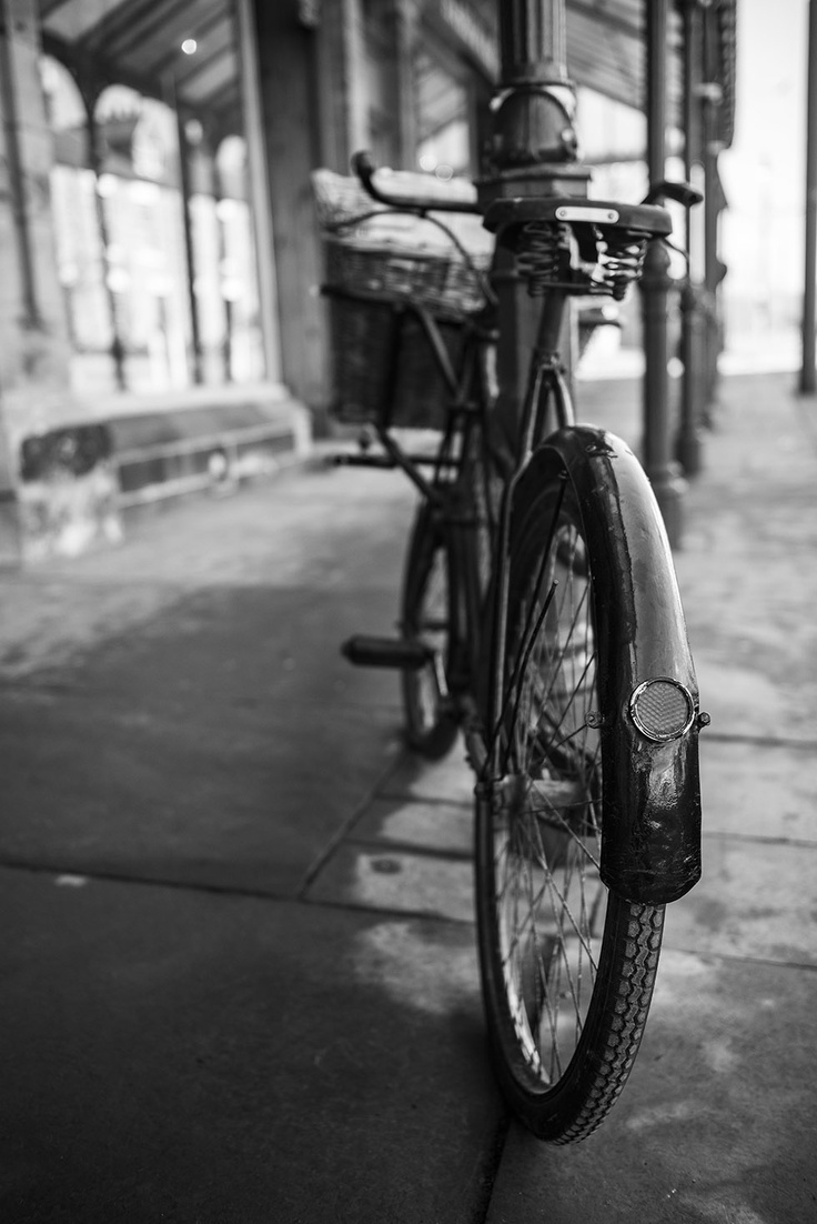 Bicycle in Beamish, County Durham