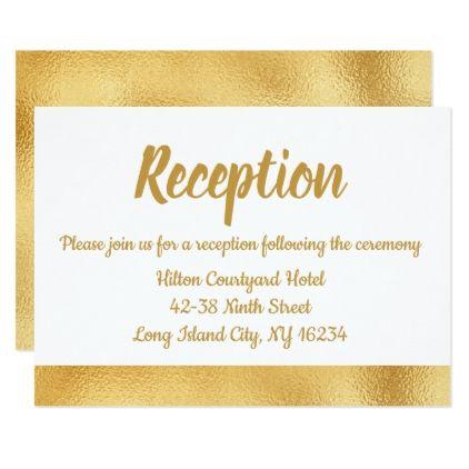 Floral Blue Cornflower Wedding Reception Laurel Card - wedding invitations diy cyo special idea personalize card