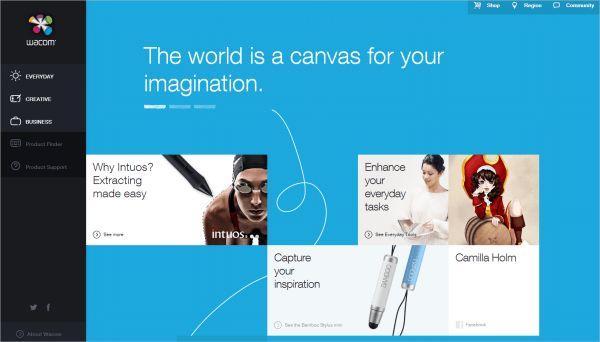 Inspiration til innovative web designs