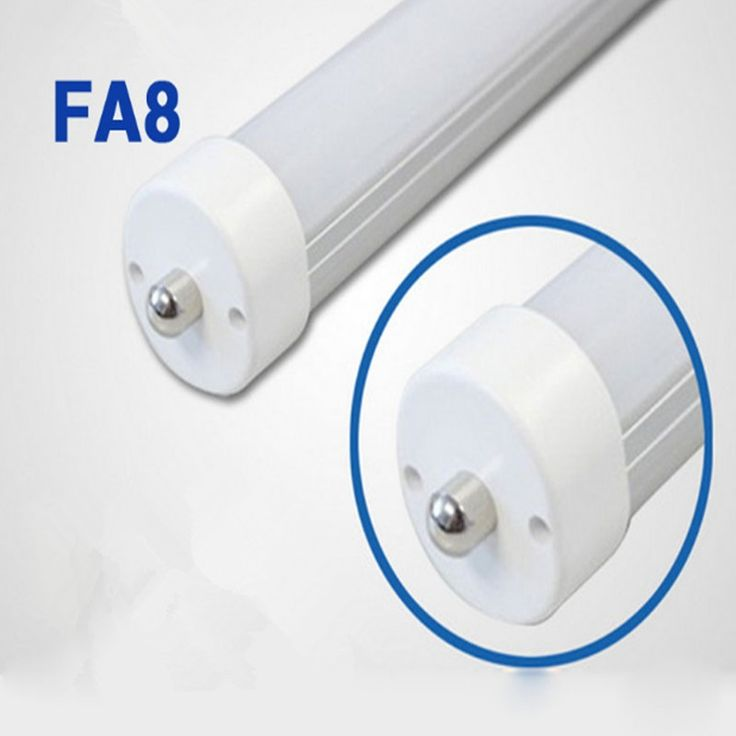 299.70$  Know more  - FA8 8ft  T8 Led Tube Light Single Pin Fa8 2400mm Tubes Fedex FreeShipping clear /milky  cover 20pc/lot