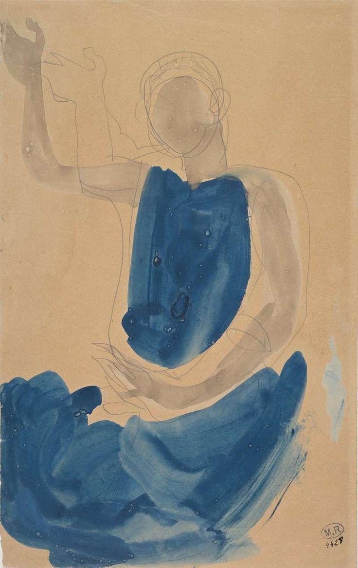 «Danseuse cambodgienne assise, au bras droit levé.» - «Par deux fois Rodin a fait lui même des expositions de 300 de ses dessins.  «A son époque, ses dessins ont été très montrés à Paris et en Europe», précise le directeur du musée. Personne n'y a échappé: Picasso, Matisse, Modigliani...