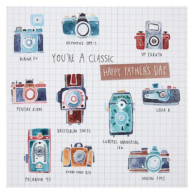 John Lewis father's day via print & pattern
