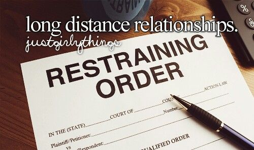 Just started dating long distance