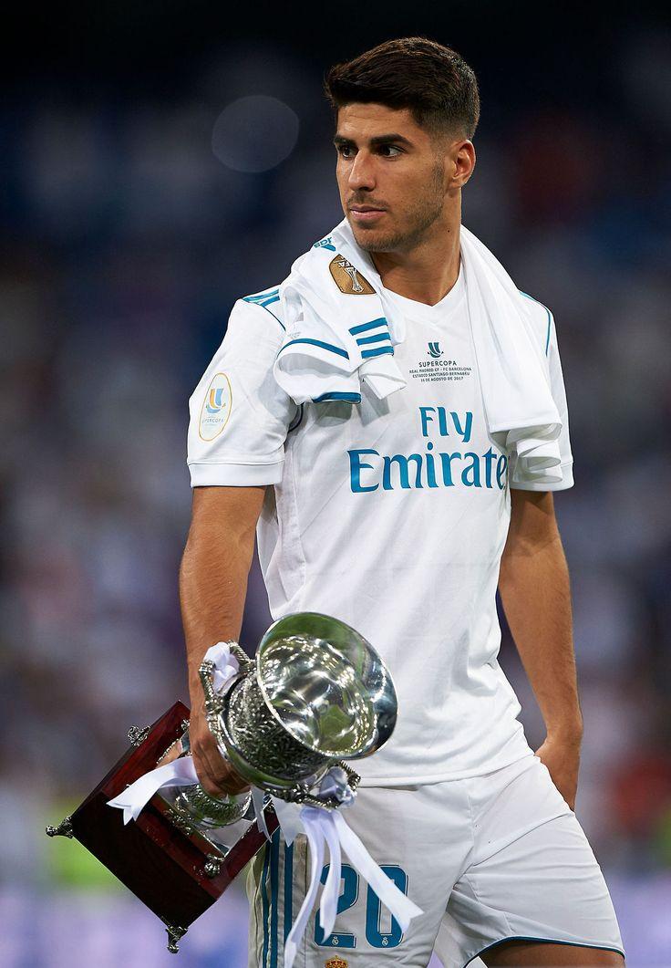 Marco Asensio. Real Madrid v Barcelona. Supercopa de Espana, Final 2017.08.16