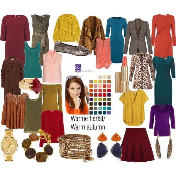 Warme herfst/ warm autumn color type. by roorda on Polyvore featuring polyvore, fashion, style, H&M, Acne Studios, Dash, Chicwish, Maison Margiela, MaxMara and ONLY