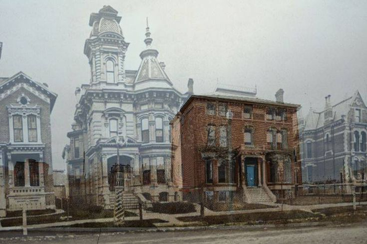 Alfred St. in Brush Park: A microcosm of Detroit's early decline