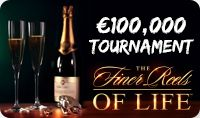 """€100,000 'March to Riches' Slot Tournament"" We are celebrating the change of our Multi Player Slot Tournaments currency to Euro with an incredible ""€100,000 'March to Riches' Slot Tournament"". The tournament will take place in March, from 1st to 31st and players can participate by playing ""The Finer Reels of Life"". The prize pool is worth no less than €100,000 and the top prize will be of €15,000.Go Wild Casino 