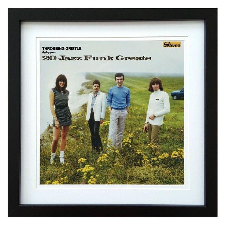 Throbbing Gristle   20 Jazz Funk Greats Album   ArtRockStore