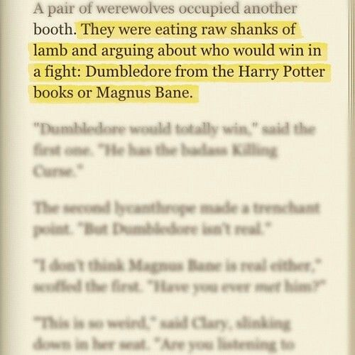 The Mortal Instruments. I just read this, and laughed just as hard as I did the first time I read the books!