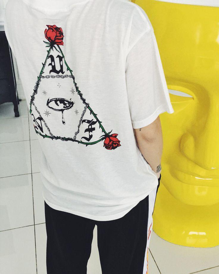 buy Rose T shirt uk boogzel apparel