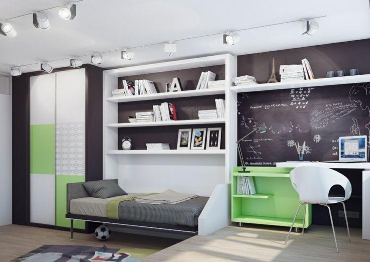 Kinderzimmer wandgestaltung bauernhof  Die besten 25+ Grüne kinderzimmer für jungen Ideen auf Pinterest ...
