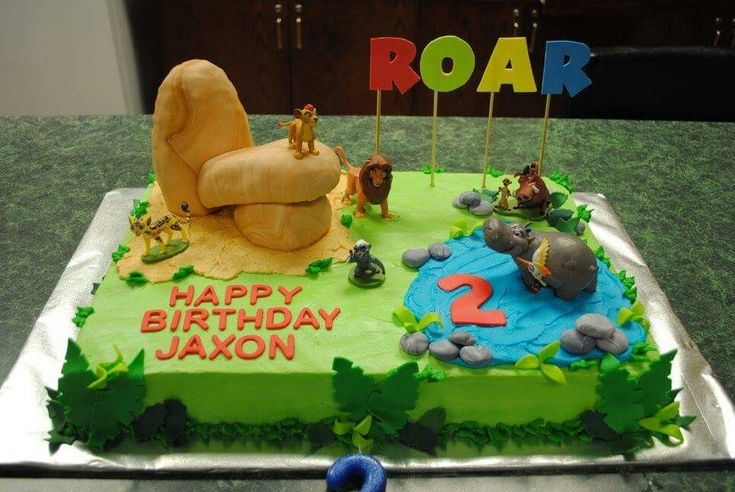 Lion Guard birthday cake #lionguard #birthdaycake #2ndbirthday #priderock #disney