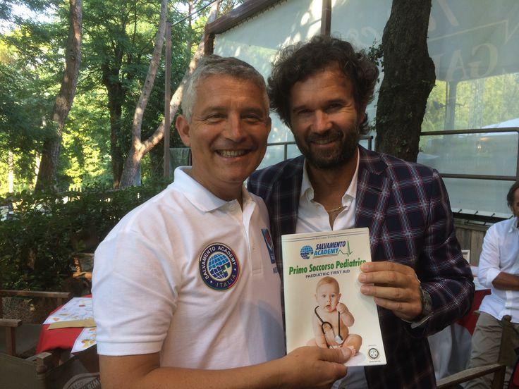 Con Carlo Cracco parte il progetto manovre disostruzione pediatriche nel mondo della cucina