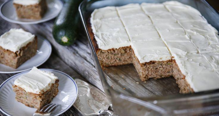 Zucchinikaka - Underbar mjuk kaka | Tidningen Hembakat