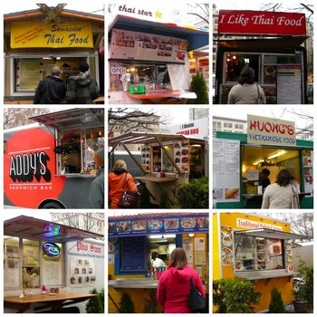 PORTLAND RATED # 1 FOR FOOD CARTS AND MICROBREW in 2012. On Dec. 5 CBS reports that in Travel and Leisure survey Portland, Oregon was rated number one city for micro brews and food carts.