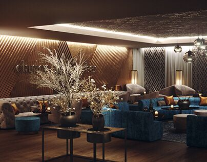 """Check out this @Behance project: """"Clarion Hotel Lounge /Ceske Budejovice/"""" https://www.behance.net/gallery/52836593/Clarion-Hotel-Lounge-Ceske-Budejovice"""