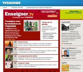 Tips for using apprendre.tv and enseigner.tv for learning and teaching French
