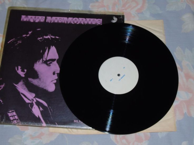 Elvis Live Memories Promo Lp Silver Productions Rare!!! in Music, Records, Albums/ LPs | eBay