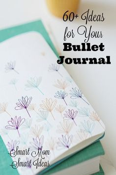 Need new ideas for your bullet journal pages? Try some of these 60+ page ideas you will love. via @smartmomideas