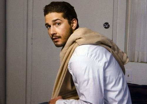 Shia Labeouf, been in love since I can remember <3