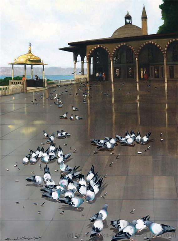 Faruk Cimok - Topkapı Sarayı