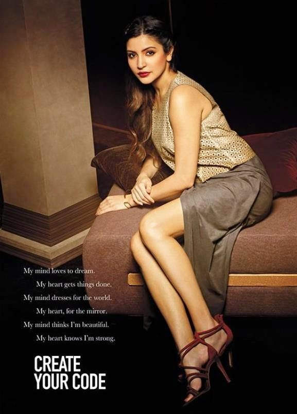 Anushka Sharma in a #photoshoot. #Bollywood #Fashion #Style #Beauty