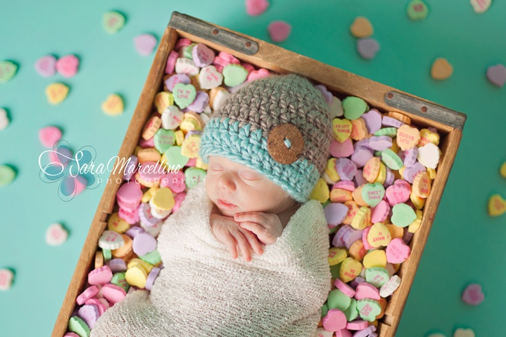 Valentine pics for new born