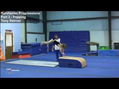 yurchenko progressions  part 2 flipping  gymnastics