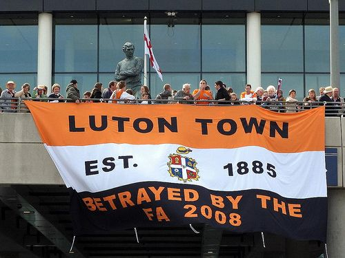 Luton Town FC, 2009 JPT Final @ Wembley