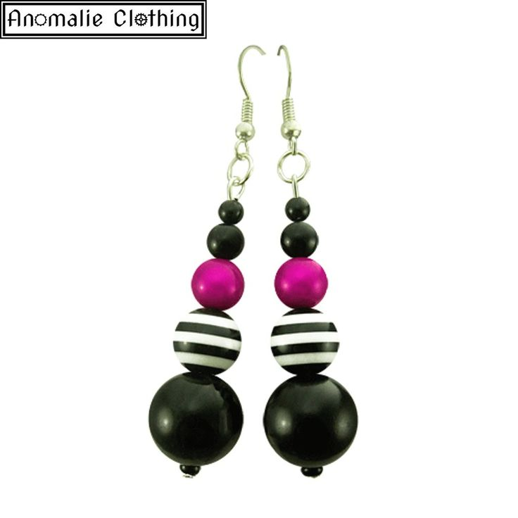 Pink Pirate Earrings