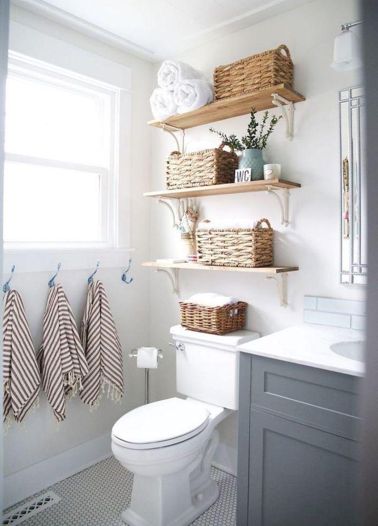 63 affordable rustic bathroom storage ideas in 2019 bathroom decor rh pinterest co uk