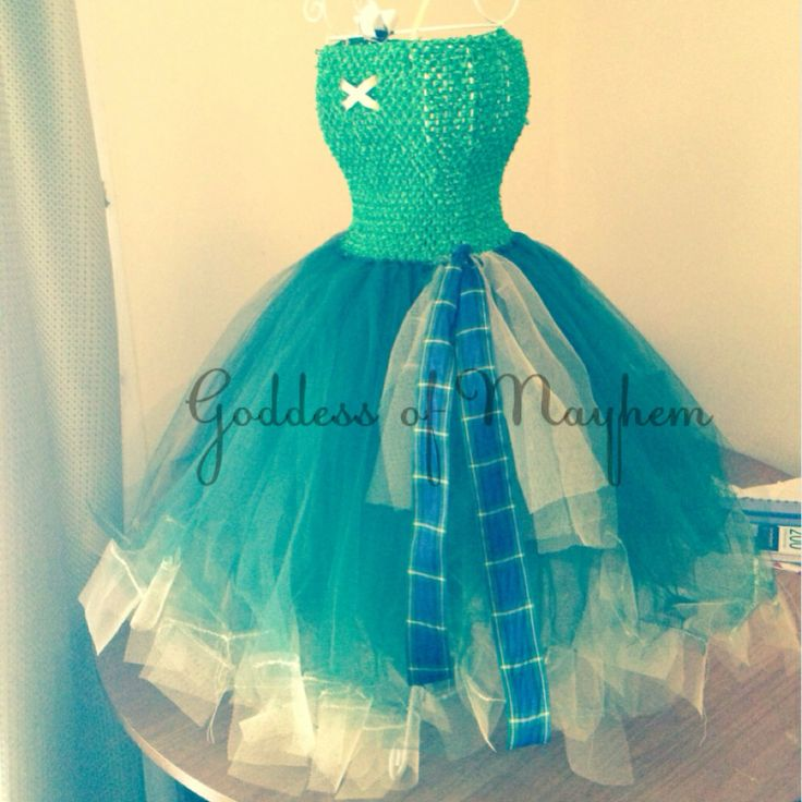 Brave inspired tutu dress.  3-6 years old.