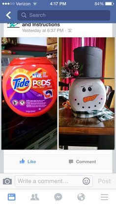 Up cycle Tide Pods Container                                                                                                                                                                                 More