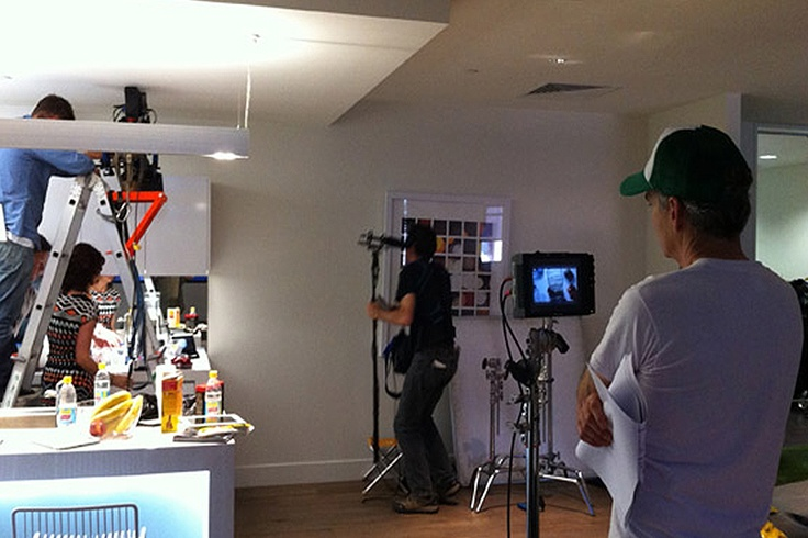 PopUp Collective | Behind the scenes with PopUp #photography #content #agency #Telstra
