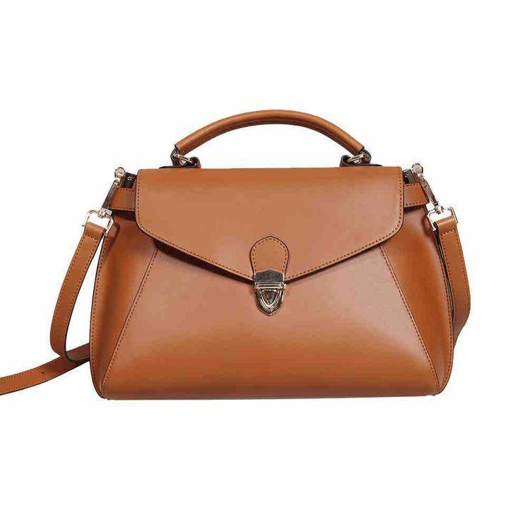Anny2013 women's cowhide fashion vintage handbag women's messenger bag women's shoule bag US $67.50