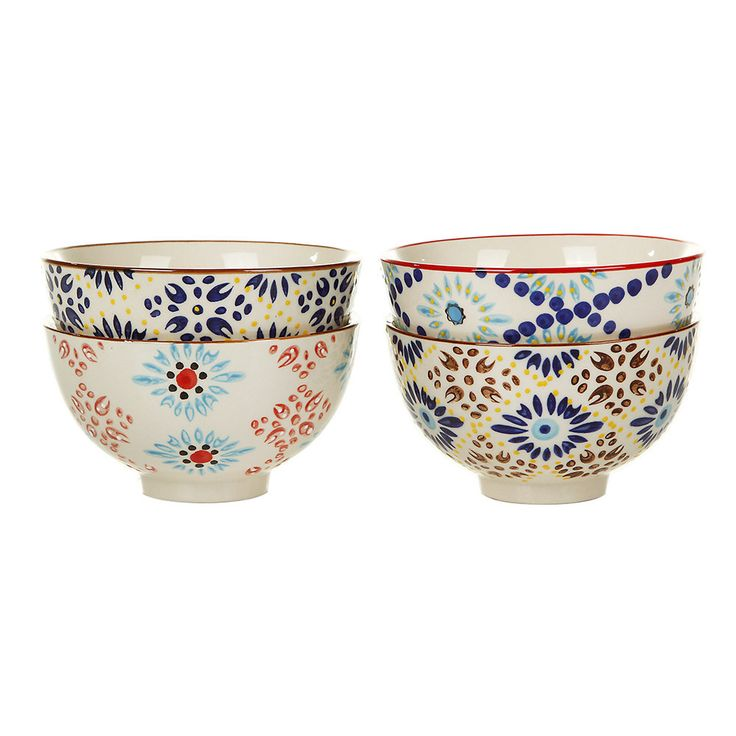 Mosaic Bowl - Set of 4 pols potten
