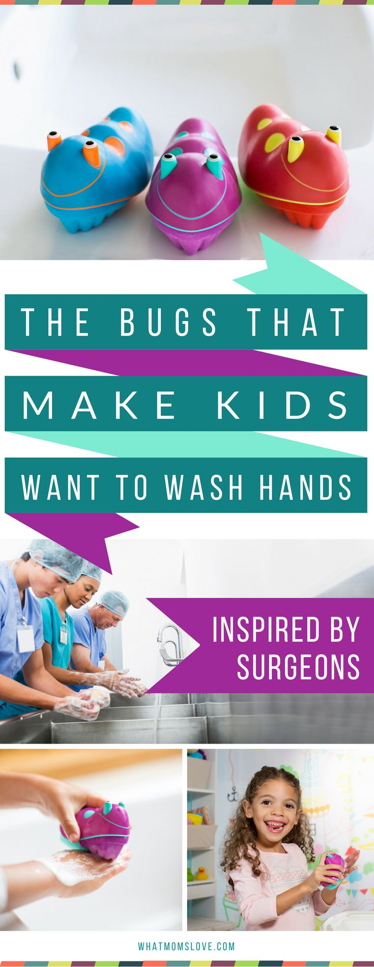 Keep your kids healthy all year round - especially during the winter, flu and cold season! These Scrub Bugs are 3 times more effective, and a fun way to get kids to wash their hands - keeping them healthy, instead of sick - hurrah! Learn more and get an exclusive promo code at whatmomslove.com