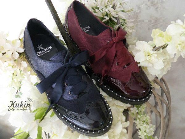 d4e5d403 zapatos-niña-landos- blucher niña - zapatos oxford -zapatos colegiales-  zapatería