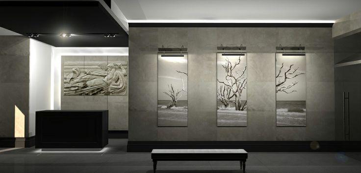 Reception hall, Jakub Blazejowski design.
