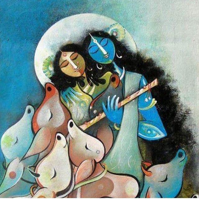 #radha #krishn #flute #song #love #vrindaban #vrindavan #vraj