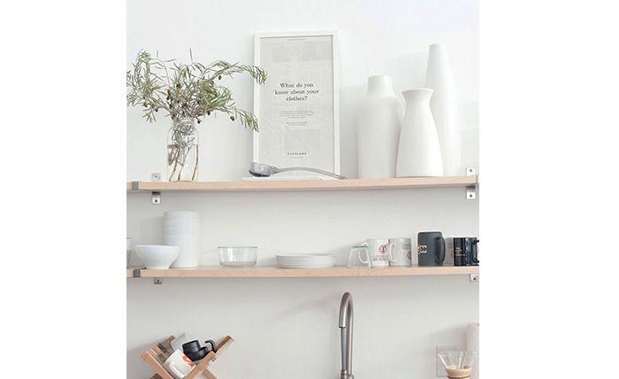 Keuken Planken Op Maat : Planken op Pinterest – Zwevende Muurplanken, Planken en Inbouwkasten