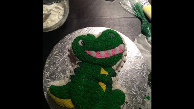 Pastel de dinosaurio   Dinosaur cake