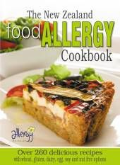 If someone in your family has just been diagnosed with food allergies, then this is a fantastic cookbook.  It has a wide range of simple recipes which exclude the most common New Zealand food allergens
