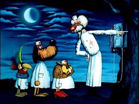 Добрый доктор Айболит - мультфильм сказка Корнея Чуковского - YouTube