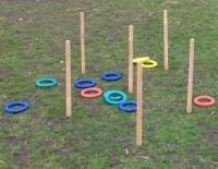 A neat variation on normal hoopla. Perfect for school fetes