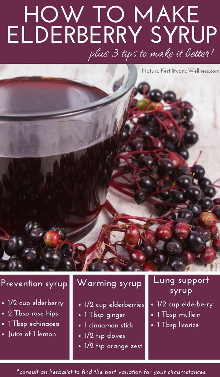Tips for Making Elderberry Syrup